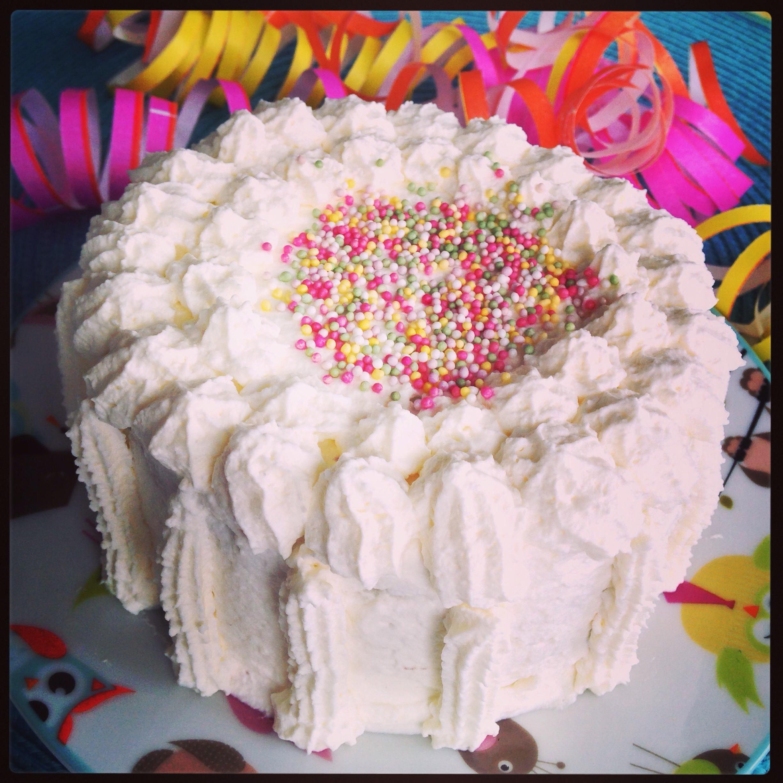 Sockerfri tårtbotten