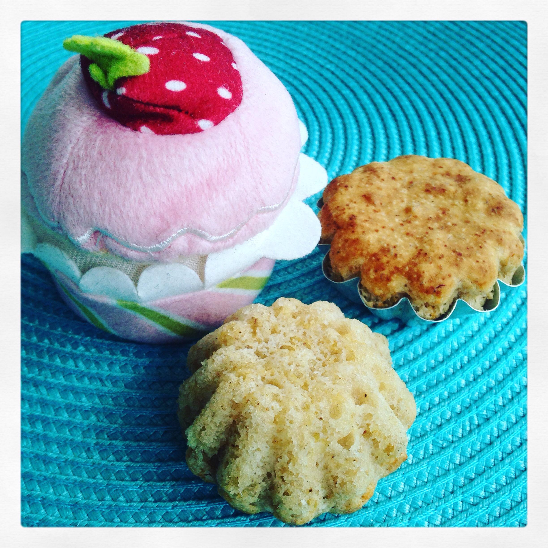 Äpplemuffins utan socker