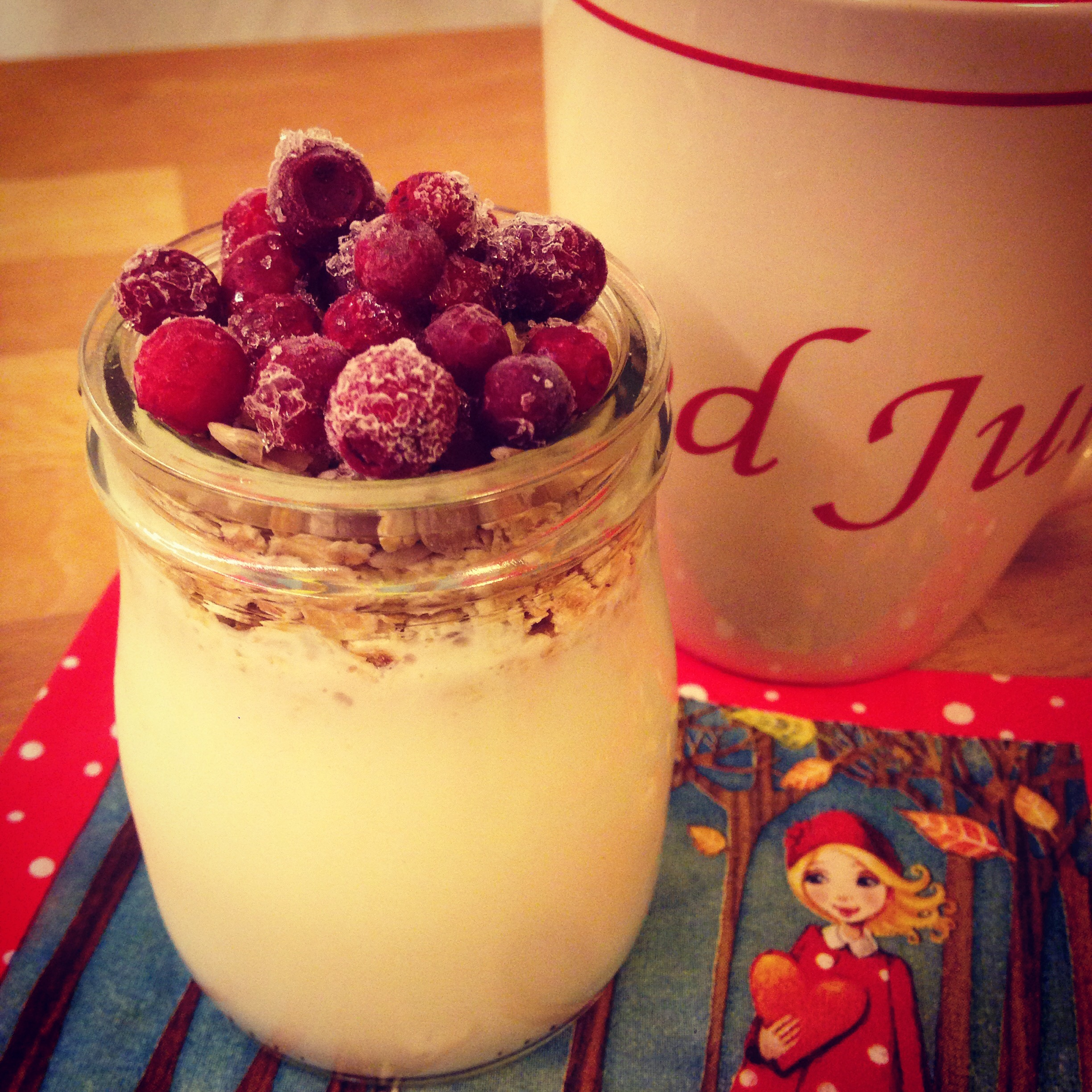 Julinspirerad overnight oats