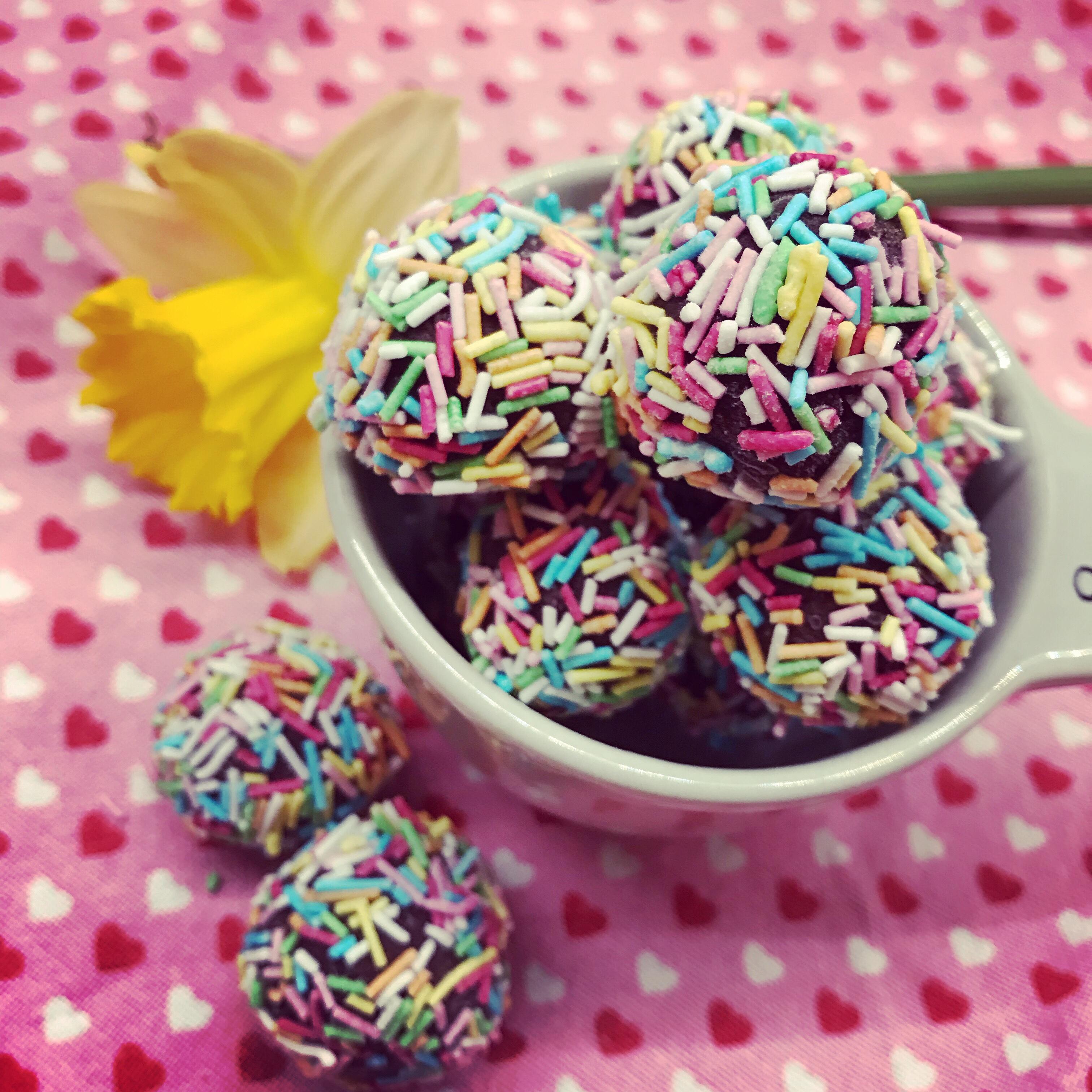 Lyxiga chokladbollar utan havre