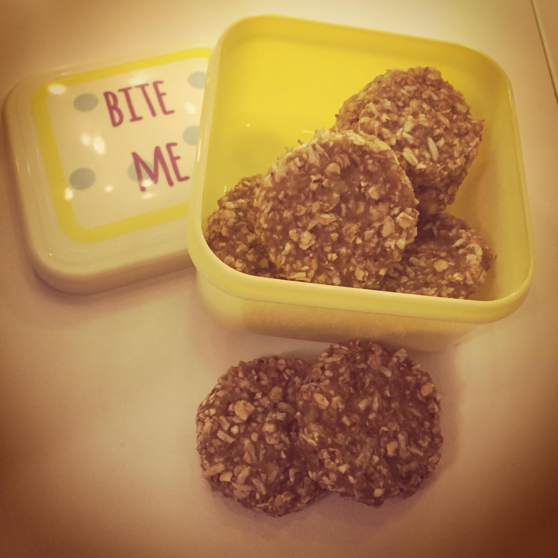 Havrecookies med lime och ingefära