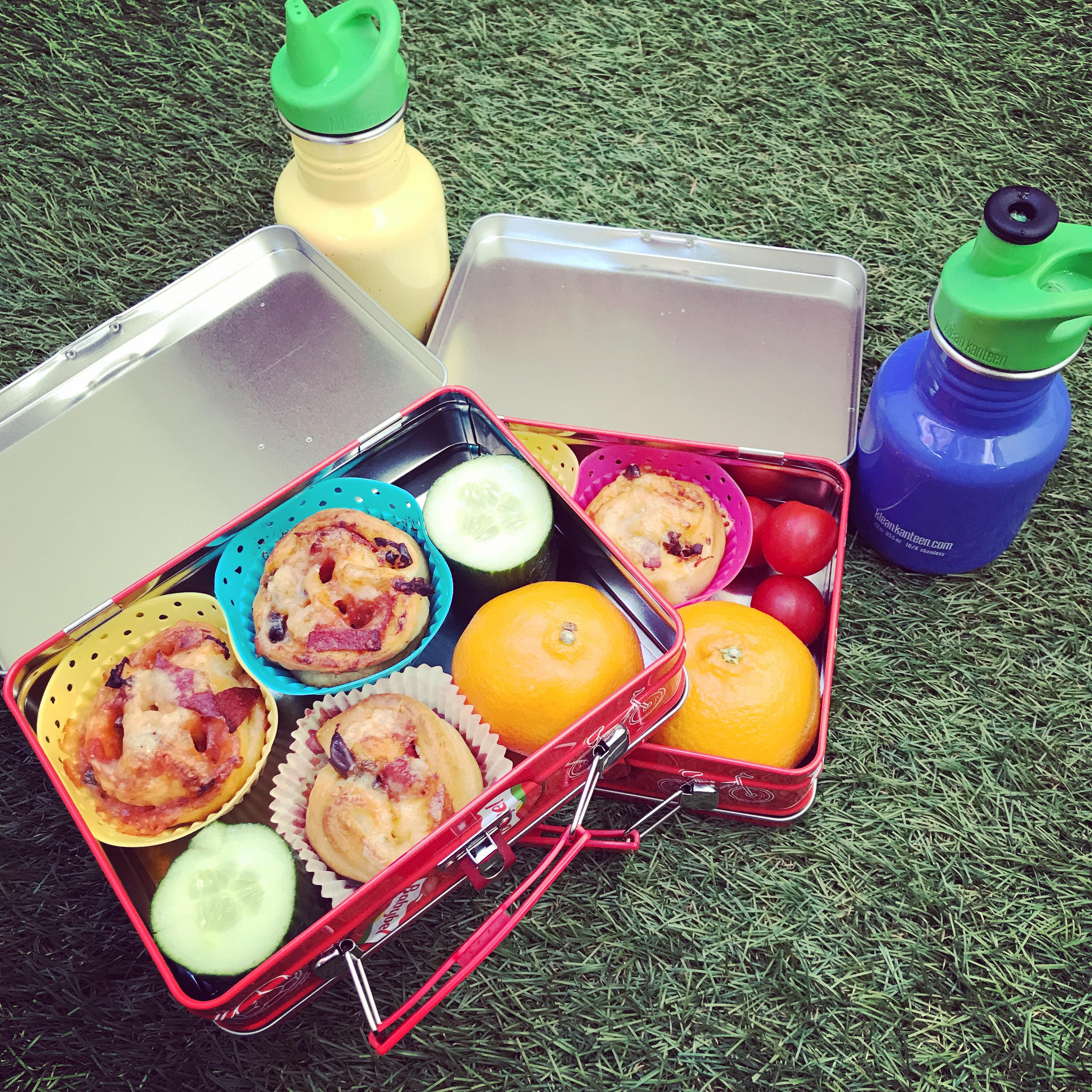 Picknick med pizzabullar