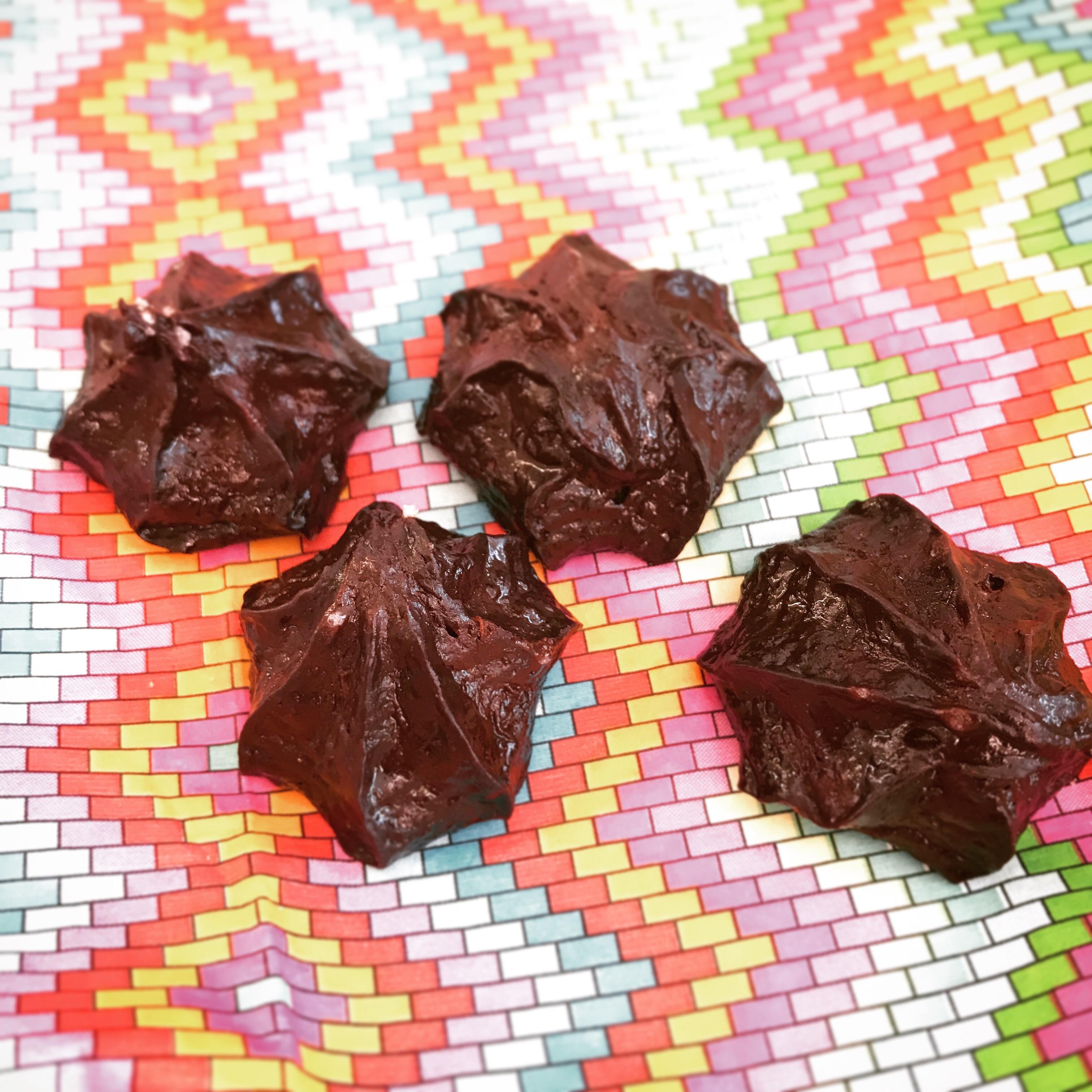 Choklad- och banankakor (osötad)