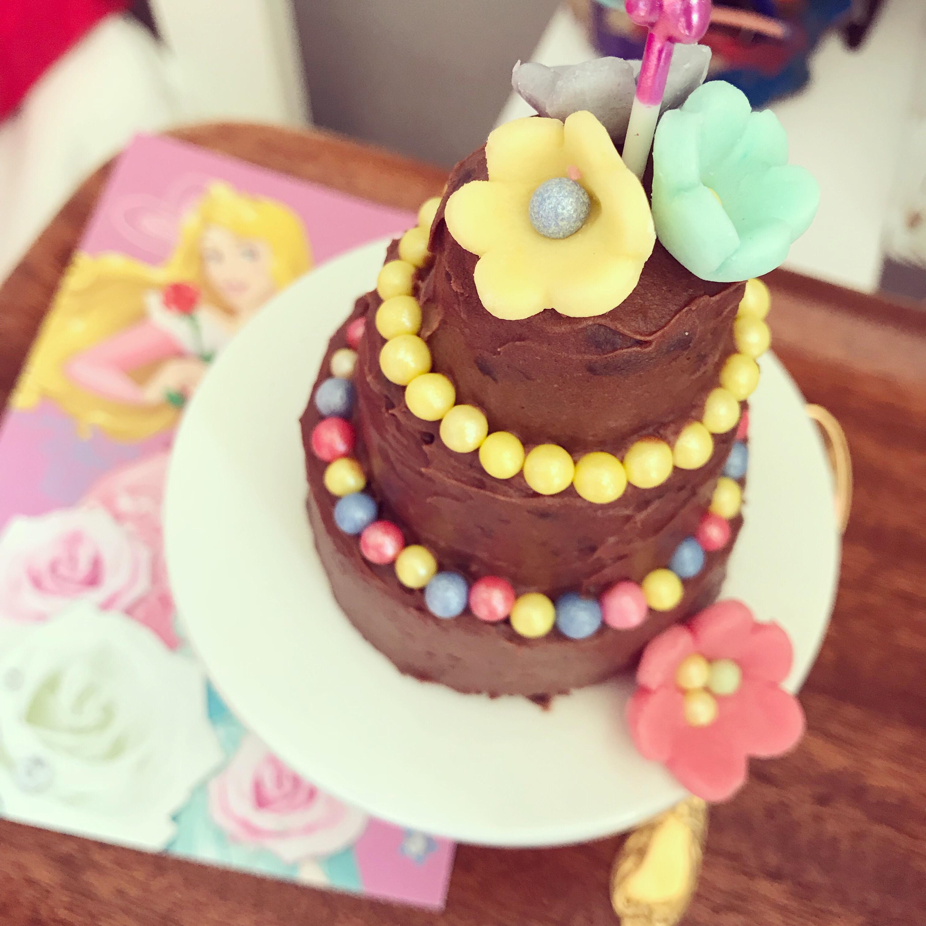 Minitårta med choklad